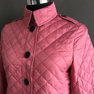 Burberry Brit Women's Casual Quilted Jacket